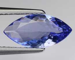 1.52 Cts Tanzanite Faceted Gemstone Gorgeous Cut ~ TN5