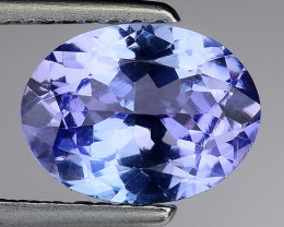 1.63 Cts Tanzanite Faceted Gemstone Gorgeous Cut ~ TN10