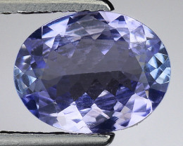 1.35 Cts Tanzanite Faceted Gemstone Gorgeous Cut ~ TN12