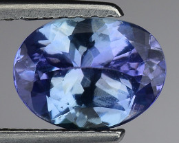 1.31 Cts Tanzanite Faceted Gemstone Gorgeous Cut ~ TN15