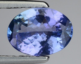 1.10 Cts Tanzanite Faceted Gemstone Gorgeous Cut ~ TN19