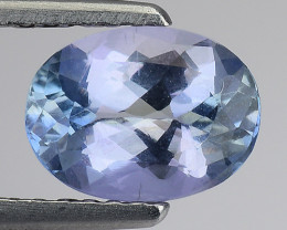 1.27 Cts Tanzanite Faceted Gemstone Gorgeous Cut ~ TN20