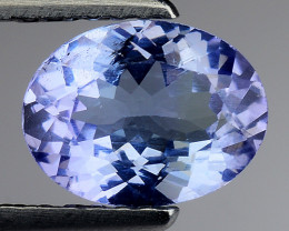 1.17 Cts Tanzanite Faceted Gemstone Gorgeous Cut ~ TN22
