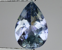 1.31 Cts Tanzanite Faceted Gemstone Gorgeous Cut ~ TN26