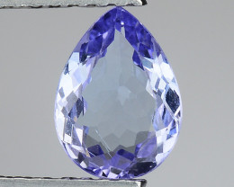 0.77 Cts Tanzanite Faceted Gemstone Gorgeous Cut ~ TN32