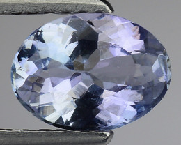 1.06 Cts Tanzanite Faceted Gemstone Gorgeous Cut ~ TN34