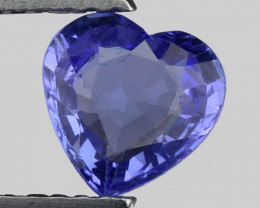 0.83 Cts Tanzanite Faceted Gemstone Gorgeous Cut ~ TN37