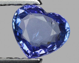 0.66 Cts Tanzanite Faceted Gemstone Gorgeous Cut ~ TN45