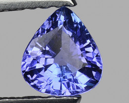 0.56 Cts Tanzanite Faceted Gemstone Gorgeous Cut ~ TN47