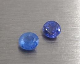 0.9ct Mini Unheated sapphire