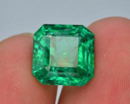 AAA Grade 5.30 Ct Natural Zambian Emerald