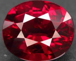 3.89 Ct. Natural Top Red Rhodolite Garnet Africa – IGE Certificate