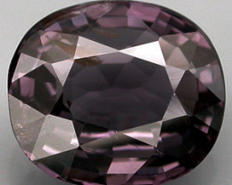 2.81 Ct. Natural Silver Purple Spinel Mogok, Burma Dazzling Unheated