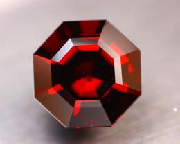 Almandine 8.28Ct Natural VVS Vivid Blood Red Almandine Garnet DR149/E95