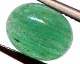 3.40 CTS GREEN QUARTZ  CABOCHON CG-3045