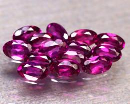 Rhodolite 4.04Ct 14Pcs Natural Purple Rhodolite Garnet E2306/B2