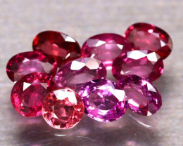 Rhodolite 5.93Ct 10Pcs Natural Purple Rhodolite Garnet E2310/B2