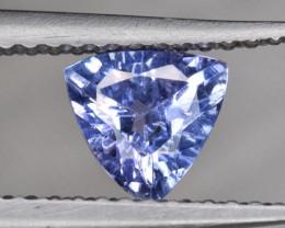 Trillion Cut Beautiful Tanzanite Gemstone