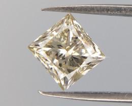 0.45 cts , Princess Brilliant Cut  Diamonds , Light Color Diamonds , LCP110