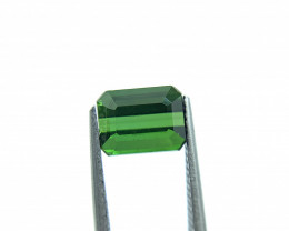 2.91 ct Natural Tourmaline Octagon green verdelite loose gemstone