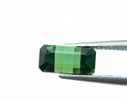 3.03 ct Natural Tourmaline Octagon green verdelite loose gemstone