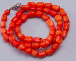 170 ct Natural coral necklace