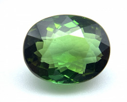 4.22 CT Natural Tourmaline Oval top quality green loose gemstone