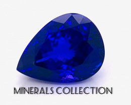 Natural 34 Carat D Block Tanzanite Gemstone