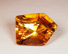 5.10 ct AAA Quality Golden Whiskey Exclusive Fancy Cut Natural Citrine