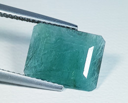 2.67 ct  Excellent Gem  Superb Rectangular Cut Natural Grandidierite
