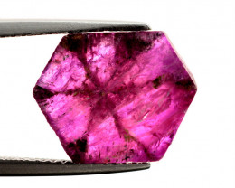 Rarest Afghanistan  4.55 Ct Transparent Ruby Trapiche