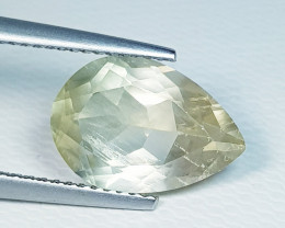 3.97 ct Top Quality Stunning Pear Cut Natural Scapolite