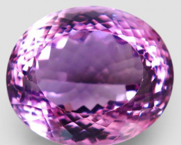 38.75 Ct. Natural Rich Purple Amethyst Uruguay Attractive Unheated