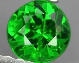 EXCELLENT~NATURAL ELECTRIC GREEN TSAVORITE GARNET ROUND!!