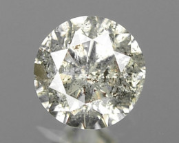 0.13 Cts Untreated Fancy Salt and Pepper Natural Loose Diamond