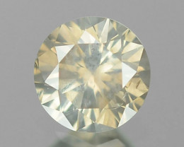 0.16 Cts Untreated Fancy Yellowish Grey Color Natural Loose Diamond