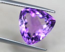 8.08Ct Natural Purple Amethyst Trillion Cut Lot A845