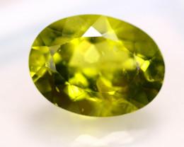4.28ct Natural Green Peridot Oval Cut Lot  V7780