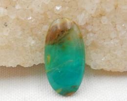 Sale 13.5cts Blue Opal Cabochon, October Birthstone, Blue Opal Gemstone G47