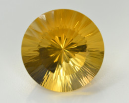 Laser Cut 42.15 Ct Gorgeous Color Natural Citrine
