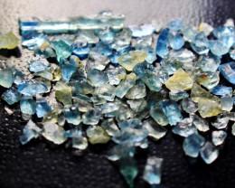 16.95 CT Natural & Unheated Blue Aquamarine Rough Lot