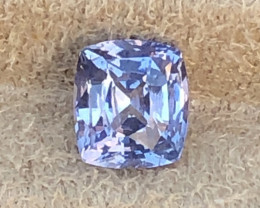 "2.29 ct sapphire certified ""scarce unheated."""