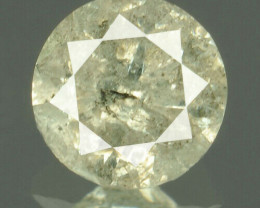 IGR Certified Natural Greyish Diamond I3 - 0.36 ct