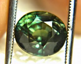 4.19 Ct. Heat Only Bi-Color VVS African Sapphire - Gorgeous