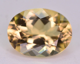 1.25 Ct Natural Heliodor AAA Grade Yellow Color ~ t