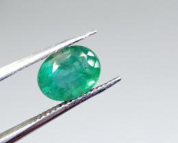 1.94cts Zambian  Emerald , 100% Natural Gemstone
