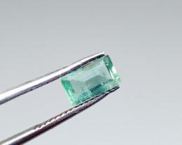 0.89cts  Zambian Emerald , 100% Natural Gemstone