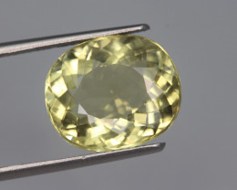 7.25 Carats Natural Heliodor Gemstone