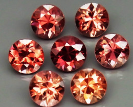 6.38 Ct. Natural Rich Pink  Zircon Cambodia - 7 ps