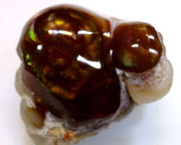 Mexican Fire Agate Stone Specimen 72cts D-20